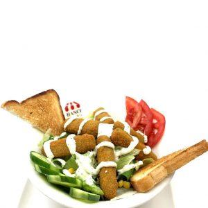 Balık Kroket Salata