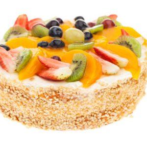 Karışık Meyveli Yaş Pasta