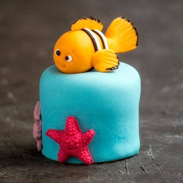 Nemo Şeker Hamuru Adet Pasta