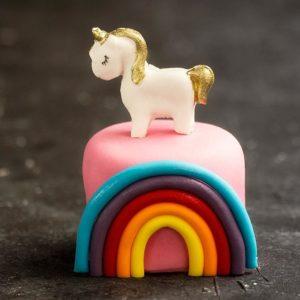 Pony Şeker Hamuru Adet Pasta