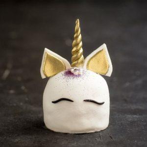 Unicorn Şeker Hamuru Adet Pasta