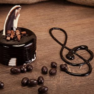 Fıstıklı Çikolatalı Yaş Pasta