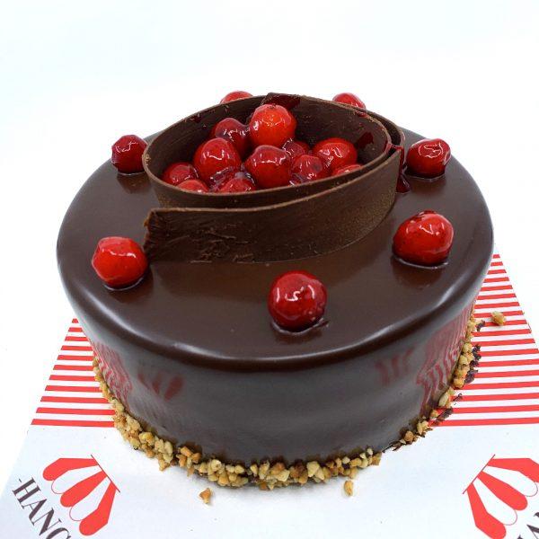 Frambuaz Çikolata Yaş Pasta