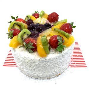 Karışık Meyveli (Hasbahçe) Yaş Pasta