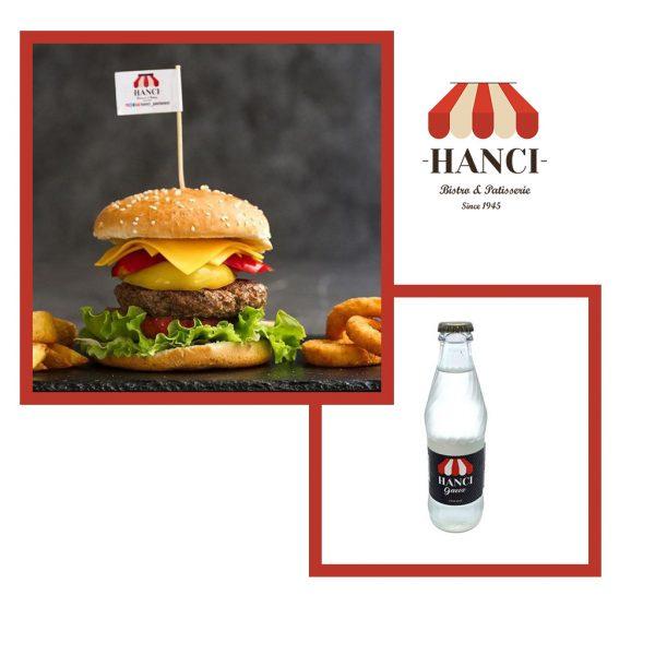 Avantajlı Hancı Burger Menü / 2 Hancı Burger + 2 Hancı Gazoz