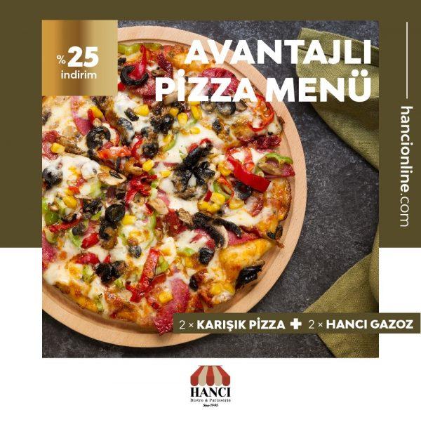 Avantajlı Pizza Menü