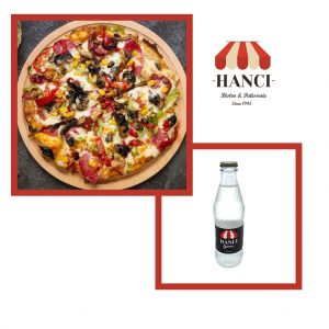 Avantajlı Pizza Menü / 2 Pizza + 2 Gazoz