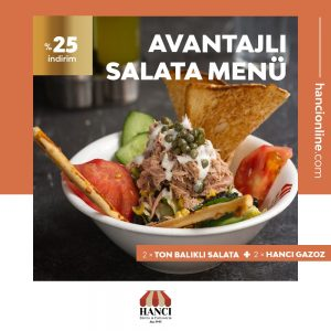 Avantajlı Salata Menü
